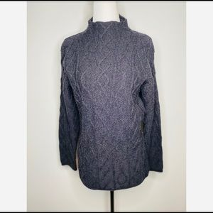 Gaeltarra Pure Wool Fisherman Knit Cable Sweater